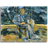 MasterPiece Painting - Paul Cezanne Portrait of a Peasant