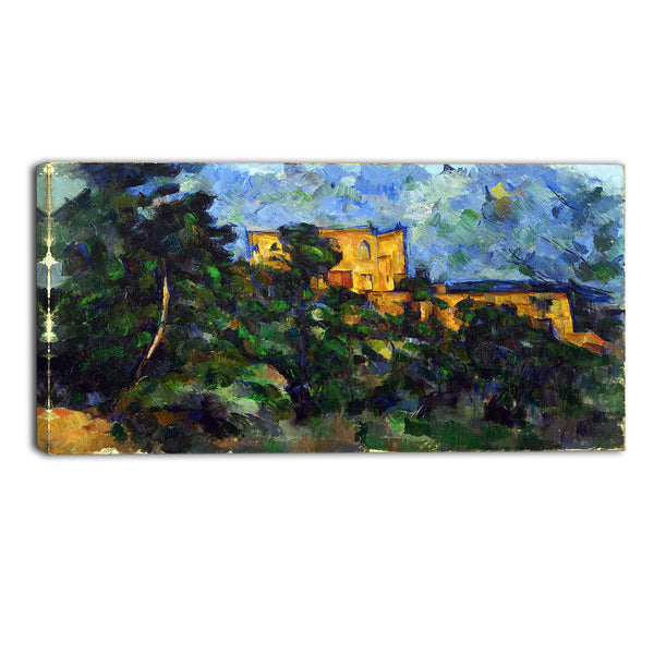 MasterPiece Painting - Paul Cezanne Chateau Noir