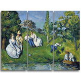 MasterPiece Painting - Paul Cezanne The Pond