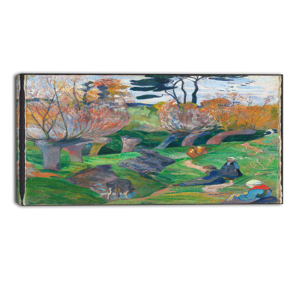 MasterPiece Painting - Paul Gauguin Brittany Landscape