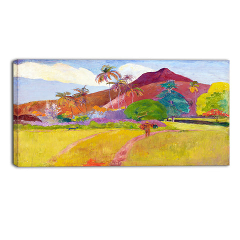 MasterPiece Painting - Paul Gauguin Tahitian Landscape