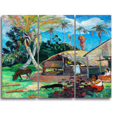 MasterPiece Painting - Paul Gauguin The Black Pigs