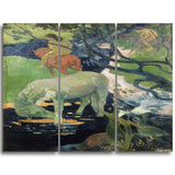 MasterPiece Painting - Paul Gauguin The White Horse