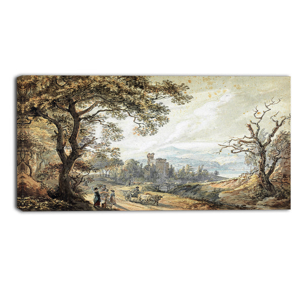 MasterPiece Painting - Paul Sandby View in Wales