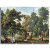 MasterPiece Painting - Paul Sandby The Garden of Thomas Sandby's House