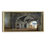 MasterPiece Painting - Paul Sandby The Queen Elizabeth Gate