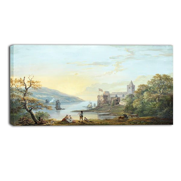 MasterPiece Painting - Paul Sandby Dartmouth Castle
