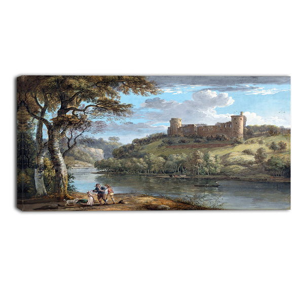 MasterPiece Painting - Paul Sandby Bothwell Castle from the South