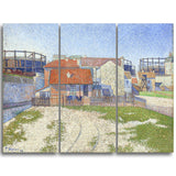 MasterPiece Painting - Paul Signac Gasometers at Clicy