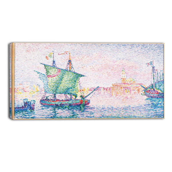 MasterPiece Painting - Paul Signac Venice, The Pink Cloud 1909