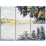 MasterPiece Painting - Paul Signac View of the Siene at Herblay