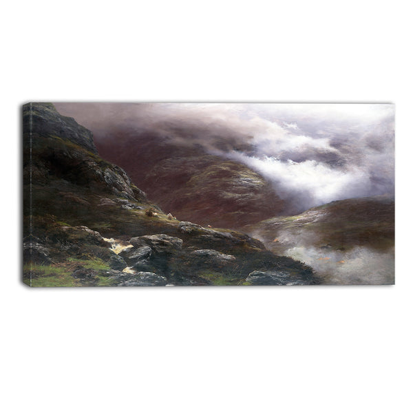 MasterPiece Painting - Peter Graham After the Massacre of Glencoe