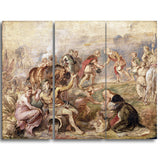 MasterPiece Painting - Peter Paul Rubens Meeting of King Ferdinand and the Cardinal