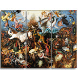 MasterPiece Painting - Pieter Bruegel The Fal of the Rebel Angels
