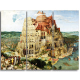 MasterPiece Painting - Pieter Bruegel The Tower of Babel Vienna