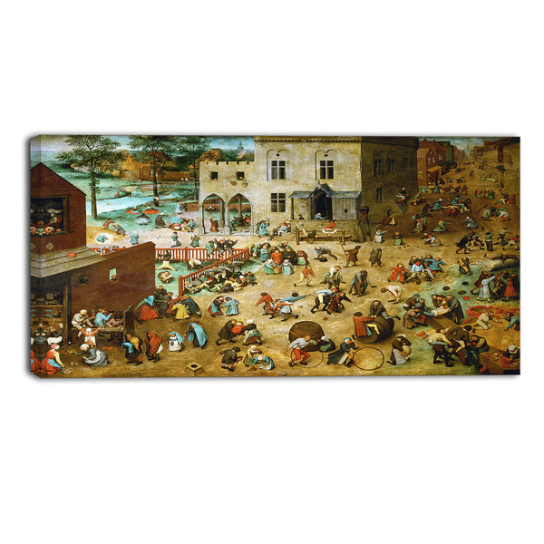 MasterPiece Painting - Pieter Bruegel Children's Games