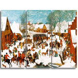 MasterPiece Painting - Pieter Bruegel Massacre of the Innocents