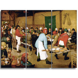 MasterPiece Painting - Pieter Bruegel Peasant Wedding