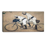 MasterPiece Painting - Ramon Casas Ramon Casas and Pere Romeu on a Tandem