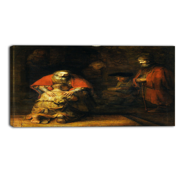 MasterPiece Painting - Rembrandt Harmensz Return of the Prodigal Son