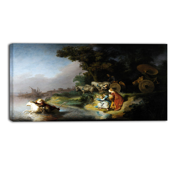MasterPiece Painting - Rembrandt Harmensz The Abduction of Europa