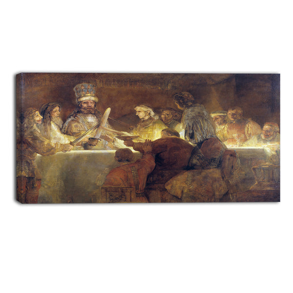 MasterPiece Painting - Rembrandt Harmensz The Conspiracy of the Batavians
