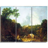 MasterPiece Painting - Richard Wilson Distant View of Maecenas' Villa, Tivoli