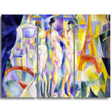 MasterPiece Painting - Robert Delaunay La ville de Paris