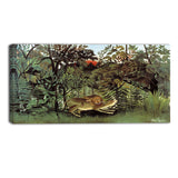 MasterPiece Painting - Rousseau Hungry