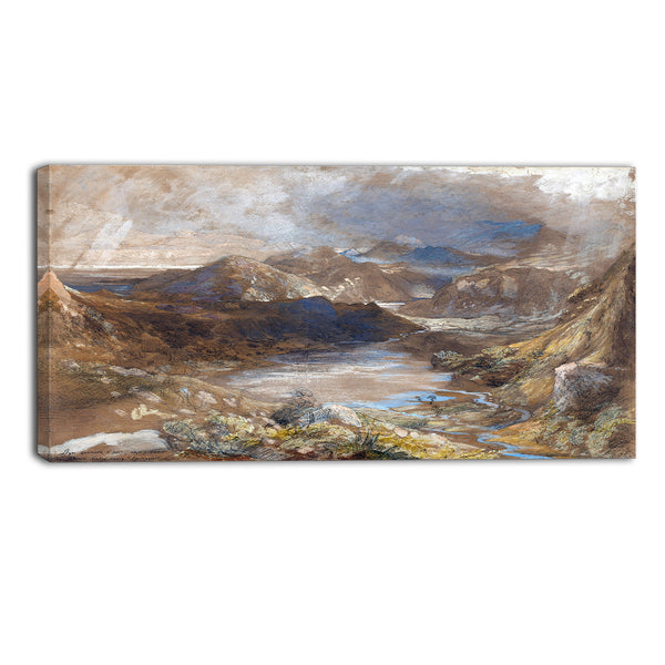 MasterPiece Painting - Samuel Palmer Llwyngwynedd and Part of Llyn