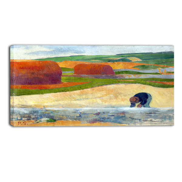 MasterPiece Painting - Paul Serusier Seaweed Gatherer