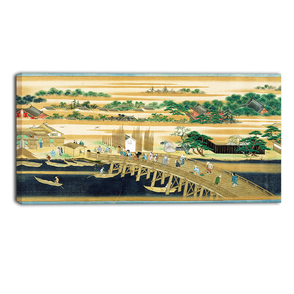 MasterPiece Painting - Sumiyoshi Famous Sites of the Sumida River