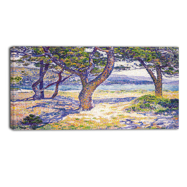 MasterPiece Painting - Theo Van Rysselberghe The Mediterranean at Le Lavandou