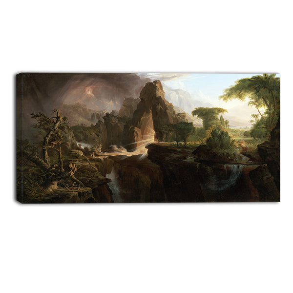 MasterPiece Painting - Thomas Cole Expulsion from the Garden of Eden