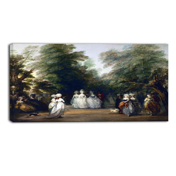 MasterPiece Painting - Thomas Gainsborouh The Mall in St. James's Park
