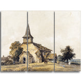 MasterPiece Painting - Thomas Girtin Chapel Church, Surre