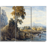 MasterPiece Painting - Thomas Girtin Romantic Landscape
