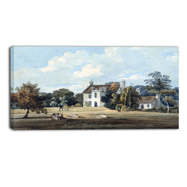MasterPiece Painting - Thomas Girtin Chalfont Lodge, Buckinghamshire