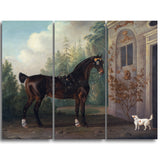 MasterPiece Painting - Thomas Gooch Lord Abergavenny's Dark Bay Carriage Horse