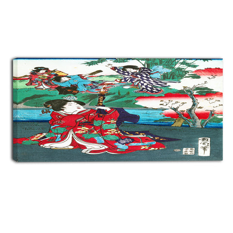 MasterPiece Painting - Toyohara Kunichika The Tale of Gejni