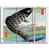 MasterPiece Painting - Utagawa Hiroshige Suid? Bridge and Surugadai
