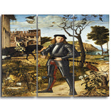 MasterPiece Painting - Vittore Carpaccio Young Knight in the a Landscape