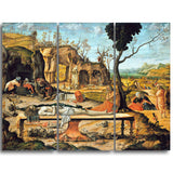 MasterPiece Painting - Vittore Carpaccio Preparation of Christ's Tomb