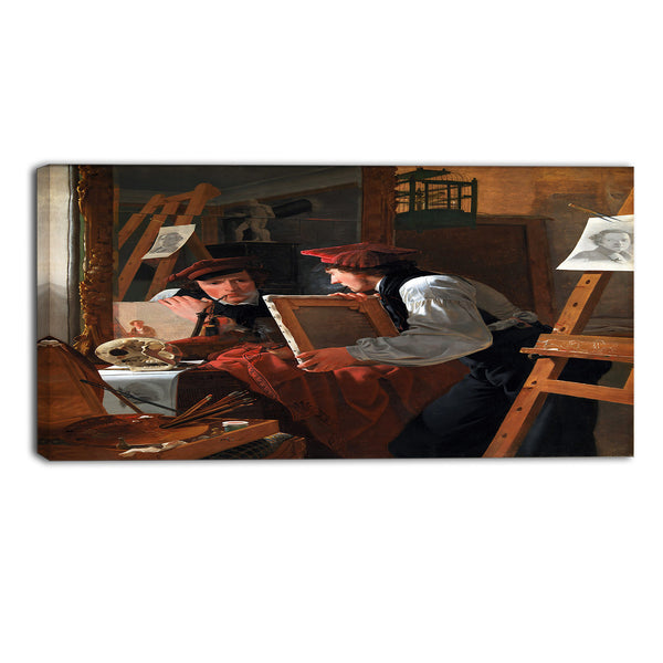 MasterPiece Painting - Wilhelm Bendz A Young Artist (Ditlev Blunck)