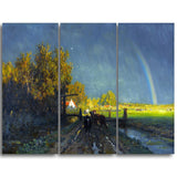 MasterPiece Painting - Willem Roelofs The rainbow