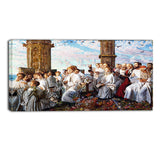 MasterPiece Painting - William Holman May Morning on Magdalen College