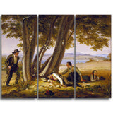 MasterPiece Painting - William Sidney Mount Boys Caugh Napping in a Field