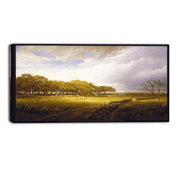 MasterPiece Painting - William Trost Richards Old Orchard at Newport