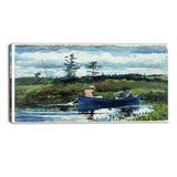 MasterPiece Painting - Winslow Homer The Blue Boat