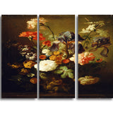 MasterPiece Painting - Vase of Flowers 2 16Wx32H